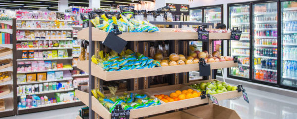 Agencement magasin alimentaire